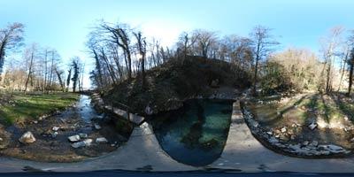Klevevž je naravna toplica na Dolenjskem, kjer potok Radulja v tesni soteski ustvarja številne brzice.