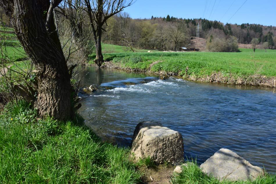 Reka Temenica, kjer so nekoč perice prale svoje perilo.