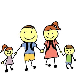 Družinski izleti za otroke v vozičku in tudi za starejše rangirani po starosti.