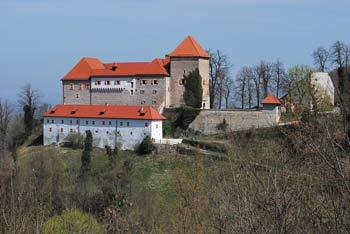 Grad Podsreda je nad istoimenskim naseljem in Starimi gorami.