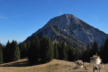 Iz planine Jepce se odpre izvrsten razgled na zahodna ostenja priljubljene Kepe.