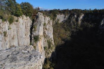 Mimo koliševke Risnik vodi učna pot po Divaškem krasu. Pot okoli nje je kratek sprehod s pogledom na strme stene udorne doline.
