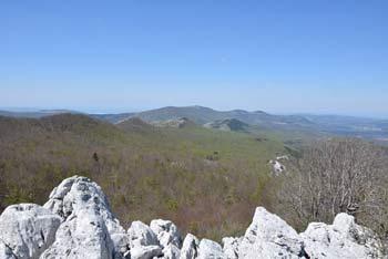 Medvižica je eden izmed najvišjih vrhov slovenske Čičarije iz katerega se odpre razgled proti Slavniku.