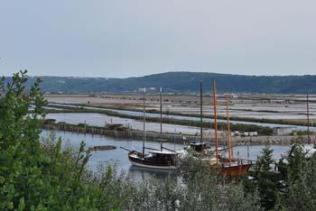 Polotok Seča ima razgled na Sečoveljske soline, nahaja pa se nad Piranskim zalivom, kjer se lepo vidi Portorož.