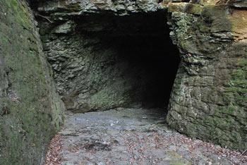 Radensko polje pod Čušperkom je znano po treh velikih ponornih jamah.