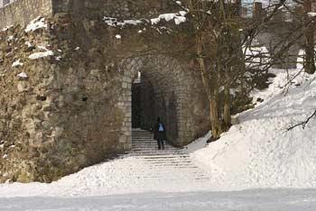 Šance so sprehajališče za otroke nad starim mestnim jedrom Ljubljane.
