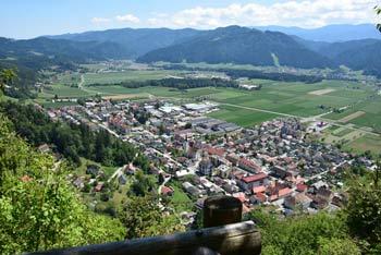 Stari grad nad Radljami ob Dravi je bil nekoč mogočna utrdba.