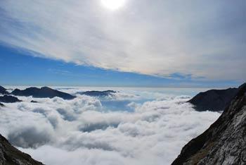 Štruca je manj znana gora na poti na visoko Skuto.