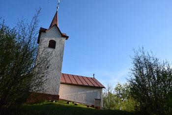 Žamboh se ponaša s starodavno cerkvijo imenovano po svetniku Sveti Lovrenc.