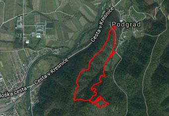 DO gradu Osterberg gremo lahko tudi brez GSP sledi.