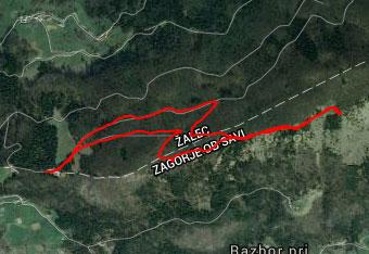 Pot do Jelenovega roga orientacijsko ni zahtevna.