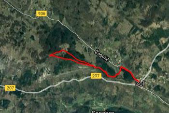 Na Kovk se odpravimo po Poti po robu, ki nas vodi visoko nad Vipavsko dolino.
