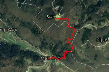Kum je najvišji Zasavski pa tudi Dolenjski vrh, zato so ga oboji vzeli za svoj Triglav.
