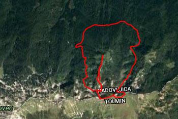 Planinska pot preko planine Osredki, ki se nahaja ob vznožju Spodnjih Bohinjskih gora je precej neobljudena.
