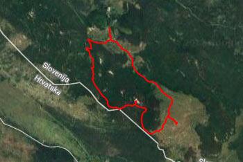 Na Medvižico vodi krožna pot mimo Ostriča, vračamo pa se lahko krožno preko Razsušice, oziroma Glavičorke.