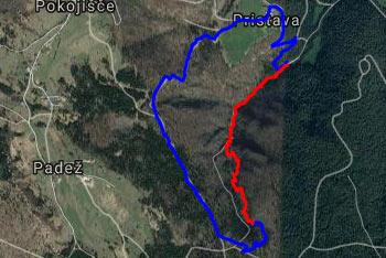 Pešpot po soteski Pekel nas ves čas vodi ob potoku Otavščici, ki se preliva preko štvilnih slapov.