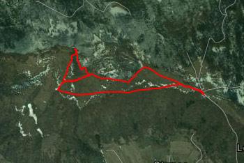 Kot se vidi iz GPS sledi se, da preko Špilnika narediti lepo krožno turo.