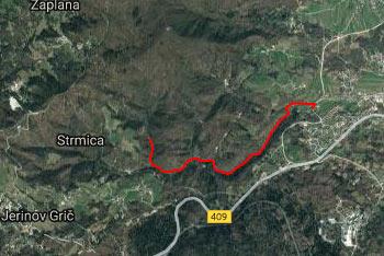 Star maln se nahaja v dolini potoka Bela blizu Vrhnike in Ljubljanskega barja.