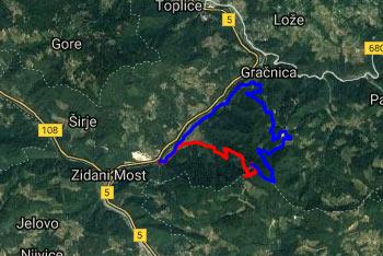 Orientacija na Veliko Kozje je lahka, saj je pot dobro nadelana. Krožen povratek je zelo dolg.