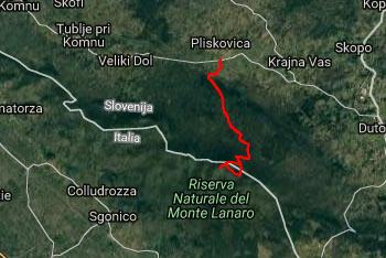Proti Volniku se odpravimo s kraške vasi Pliskovica, pot pa je ves čas nadelana in označena.