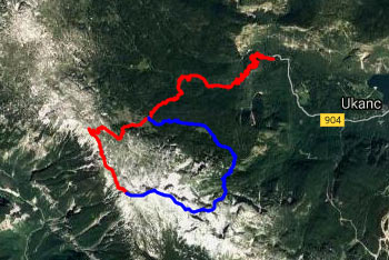 Gorska tura na Kser nas vodi od planinskega doma Savica mimo Doma na Komni in planine Govnjač.