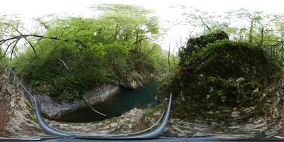 Krčnik je izredno slikovita soteska na približno devet kilometrov dolgem potoku Kožbanjščku.