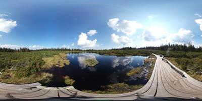 Ribniško jezero se nahaja na zahodnem predelu Pohorja v severno-vzhodni Sloveniji. Na izlet se lahko odpravimo tudi preko Črnega vrha.